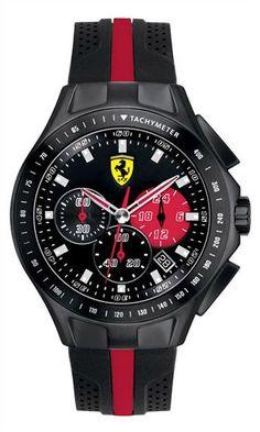 Reloj race day Scuderia Ferrari #Reloj #Ferrari #Accesorios #Caballeros