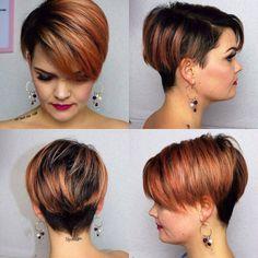 """1,020 mentions J'aime, 11 commentaires - Short Hair Ideas (@short_hair_ideas) sur Instagram: """"Cedits to @salirasa  #shorthair #shorthairideas #BlondeHair #pixiecut #pixiehair #bobhaircut #bob…"""""""