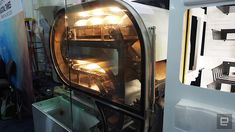 BreadBot Unveiled at CES is a Bread-Making Robot That Doubles as a Vending Machine Bread Making, How To Make Bread, Baking Company, Vending Machine, Robot, Business, Baking, Robots