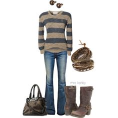 My everyday outfit for sure:) - Click image to find more Women's Fashion Pinterest pins