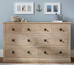 Charlie Extra Wide Dresser | Pottery Barn Kids