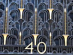 Стиль Ар Деко в архитектуре Нью Йорка | традиции Стиль Ар Деко символ ресторан отдых огни Нью Йорк мебель комфорт искусство интерьер золото здание гостиница горд архитектура америка
