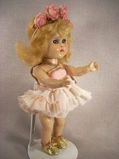 1955-56 Vogue Ginny Doll dressed in Ballerina Costume