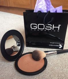 Gosh Cosmetics Ireland Giant Sun Powder review now live on my blog www.eatsleepchic.co #bblogger #fblogger #lblogger #goshcosmetics #goshireland #sunshimmer #bronzer #giantsunpowder