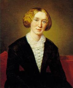 """George Eliot at 30 by François D'Albert Durade. """"What do we live for, if it is not to make life less difficult for each other?"""""""