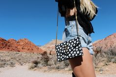 fashion ootd daily blogger red rock inspo accessories coachella outfit inspiration stars ysl wildfox desert Las Vegas