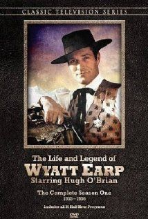 Wyatt Earp ('55-'61) ~ Wyatt Earp was a Marshall, first in Kansas and later in Arizona. The sage is based loosely on fact, with historical bad guys and good guys, ending up with the famous shootout at the O.K. Corral. It was an enjoyable series, especially because of the history. Starred ~ Hugh O'Brian, Jimmy Noel, Ethan Laidlaw, and Brick Sullivan to name a few. It was one of my father's favorite programs!!