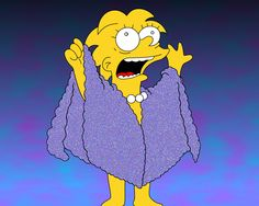 LIZARD QUEEN!!!!  i am also a lot like lisa simpson. :)