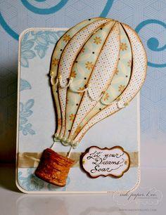 Hot Air Balloon. Let Your Dreams Soar