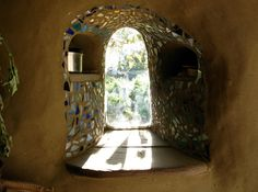 cob house window alcove