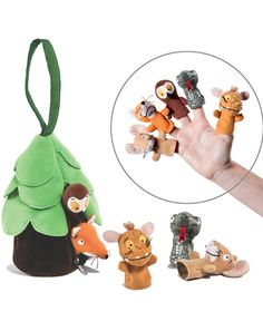 Der Grüffelo – Grüffelokind Fingerpuppen-Set