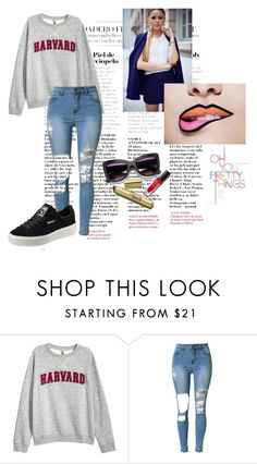 """""""OH YOU PRETTY THINGS"""" by carina-tempelman on Polyvore featuring mode en Puma"""