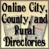 Online Historical Directories Site - this is my original logo