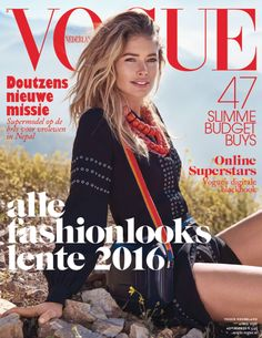 e1348df2 Supermodel Doutzen Kroes lands on the cover of Vogue Netherlands' April  2016 issue captured by photographer Duy Vo with styling from Jetteke van  Lexmond.