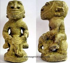 """Monstrous Nomoli Figures on elephants - found in Sierra Leone, West Africa - controversial stone figures dated from 2,500 years to approx 15,000 BC - 17,000 BC. They seem to prove the existence of an ancient civilization much more advanced than it """"should"""" be."""