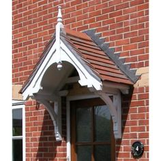 Walmersley Period Dual Pitch Timber Door Canopy 2195mm Wide 700mm Projection PCS