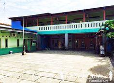 Pembangunan asrama guru-guru di Pati, Jawa Tengah, Indonesia (2015)