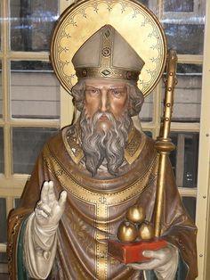 Sint Nicolaas beeld ca. 1875, Staat in het museum Ons' Lieve Heer op Solder te amsterdam