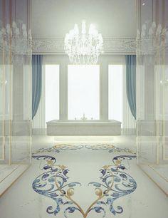 Master Bathroom Design -By IONS DESIGN www.ionsdesign.com