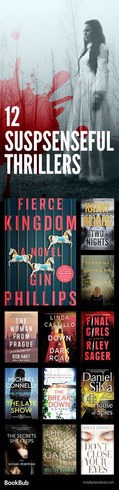 Some of the biggest suspenseful thriller books to read this year. Perfect books to read if you like Gone Girl or The Girl on the Train, and for your 2017 reading list.