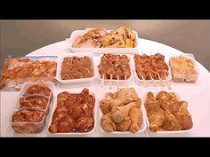 (63) تحضيرات رمضان 2017 / طرق لتتبيل الدجاج بأشكال مختلفة ومتنوعة مثل المحلات لتوفير الوقت و طريقة تخزينه - YouTube Ramadan, Food And Drink, Sweets, Meals, Chicken, Recipes, Souvenir, Juice, Cooker Recipes