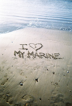 I love my Marine <3