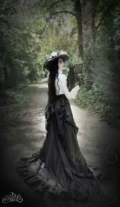 The Best In Gothic Fashion Victorian Steampunk, Victorian Fashion, Gothic Fashion, Vintage Fashion, Gothic Mode, Gothic Lolita, Gothic Dress, Dark Beauty, Gothic Beauty