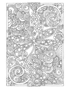 Creative Haven Entangled Dragonflies Coloring Book (Adult Coloring): Dr. Angela Porter: 9780486805689: Amazon.com: Books