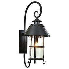 Camelot Outdoor Wall Lantern by Troy Lighting  See All Products From Troy Lighting, Inc.    Be the First to Write a Review    The Troy Lighting Camelot Outdoor Wall Lantern can be used for