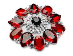 Brooch of red Kiara.pl by Piotr Śliwa Daily Photo, The World's Greatest, Bracelet Watch, Brooch, Red, Photography, Accessories, Photograph, Watch