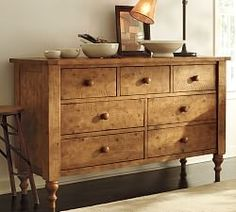 Dressers, Bedside Tables & Bed Side Tables | Pottery Barn. Ashby Extra Wide Dresser.