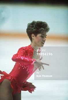 Jill Trenary short program -Calgary Olympics 1988
