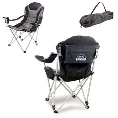 Colorado Rockies Reclining Camp Chair by Picnic Time