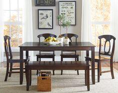 Larkin 6 Piece Dining Table Set by Vendor 855
