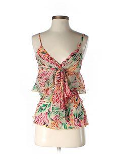 Check it out - Diane Von Furstenberg Sleeveless Silk Top for $42.99 on thredUP!