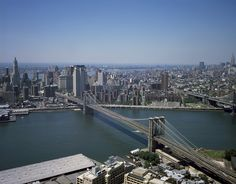 Puente De Brooklyn, Manhattan, Horizonte
