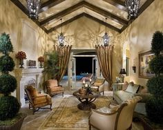 amazing high ceilings and look