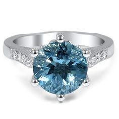 Embellished+Aquamarine+Ring+with+Decorative+Crown+from+Brilliant+Earth