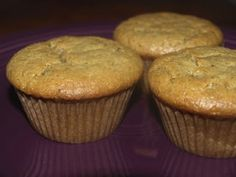 A friend of ours gave us a super simple grain-free peanut butter cookie recipe that is delicious ~ this recipe for muffins is quite similar although it is lower in sugar which is a bonus. Can't wait to try them!
