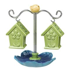 birdhouse salt and pepper shakers