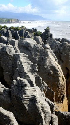 Just north of us is this spectacular for free!  Pancake Rocks, West Coast, South Island, New Zealand.  ^James Print
