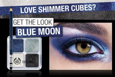 Shimmer Cubes: Get the Look BLUE MOON