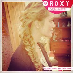 Super cute!! I love the fishtail braids!! Needing someone to do this do for me!!