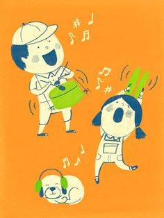 music time by Alison Kim