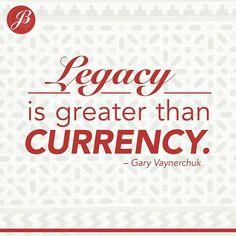 Are you building your legacy?  #reexpert #jillboudreau #wellesley #wellesleylife #success