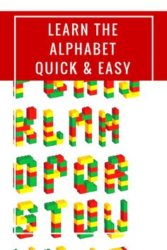 By far, the most effective way to get kids familiar with the alphabet and be able to recognise and write letters is to get them involved in fun, hands-on and meaningful activities. Here's some quick and easy ways that you can teach your preschooler the alphabet in your own home. #alphabet #kids #preschoolers #learning #abc