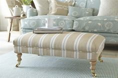 Loving the co-ordinating fabrics - Vanessa Arbuthnott Living Room Decor Country, French Country Living Room, Interior Exterior, Interior Design, French Country Kitchens, Reupholster Furniture, Vanessa Arbuthnott, Bedroom Colors, Soft Furnishings