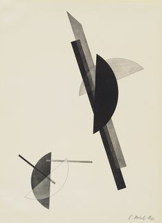 Untitled, from Constructions. 1923  Lithograph  Laszlo Moholy-Nagy