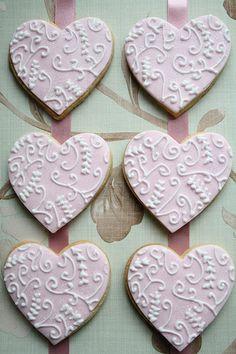 Heart cookies **
