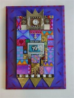 Love Laurie Mikas mosaics in polymer clay